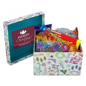 Craft Paper Candy/Sweet Box for Christmas pictures & photos