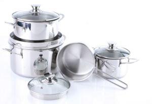 8PCS Stainless Steel Cookware Set pictures & photos