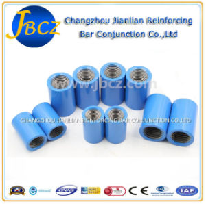 BS4449 Standard Rebar Parallel Screw Thread Epoxy Sleeve Coupler pictures & photos