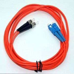 Competitive Sc to St Multi-Mode Optical Fiber Jumper pictures & photos