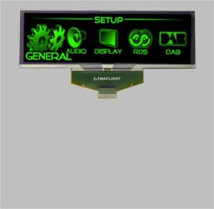 5.5 Inch Pm OLED Display Module with 256X64 Pixels pictures & photos