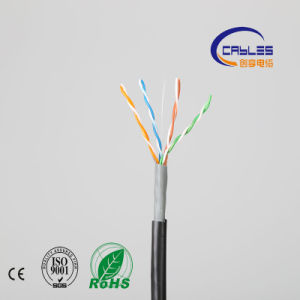 High Quality UTP Cat5e Outerdoor LAN Cable Double Jacket pictures & photos