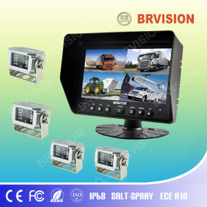 "7"" Quad Rear View System with Quad Split Screen, 4 Camera pictures & photos"