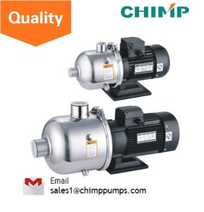 Chimp Chl (K) Series 20m3/H 4.0kw 3-Stage Food/Sea Usage Multistage Horizontal Stainless Steel Centrifugal Pumps pictures & photos