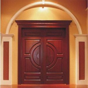 Timber Door /Interior & Exterior Solid Wooden Door for Hotel pictures & photos