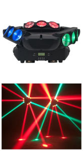 9 Eyes   9X10W LED Spider Light DMX Control LED Beam Moving Head Spider Light pictures & photos