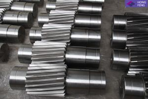 Forged High Speed Transmission Gear Shafts pictures & photos