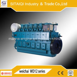 Chinese Weichai Cw6250zlc Marine Engine for Ship & Diesel Generator pictures & photos