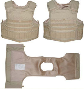 Concealable UHMWPE Bulletproof Vest for Policemen pictures & photos