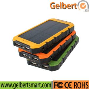Hot Selling Waterproof Lithium Battery Solar Power Bank with RoHS pictures & photos