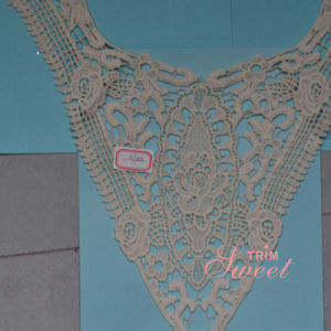 100% Cotton Afraican Lace Collar for Woman Garment pictures & photos
