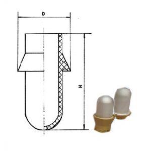 Bottal Shape Superpower Ceramic Capacitor (CCG11-4) pictures & photos