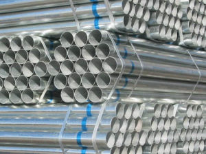 Threading Hot Dipped Galvanized Steel Pipe pictures & photos