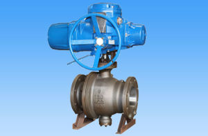 Electric Flanged Stainless Steel Ball Valve