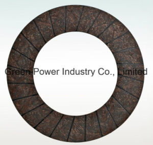 High Level Quality Asbestos Free Heavy Duty Truck Clutch Facing pictures & photos