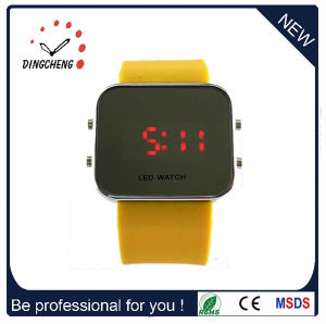 Mirror LED Wrist Watch Silicone Fashion Watch (DC-357) pictures & photos