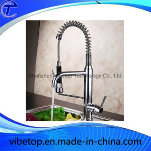 Unique Pull Type Stainless Steel Kitchen Faucet (VBT-8006) pictures & photos