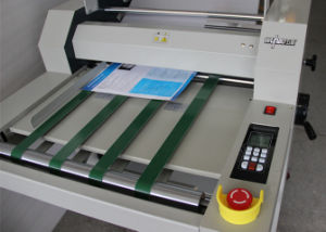 490mm Double Side Steel Roller Laminating Machine pictures & photos