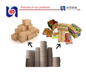Hot Sale Carton Box Waste Recycling Machine, Kraft Paper Machine Price pictures & photos