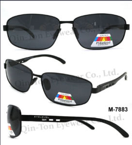 Polarized Metal Sunglasses with 100% UV Protection (P-7883)