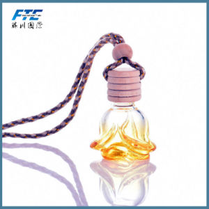 Flower Shape Perfume Pendant Car Perfume Bottle Car-Styling Hanging pictures & photos