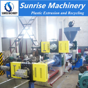 Recycled Waste PE Polythene Bag Scrap Granule Making Machine pictures & photos