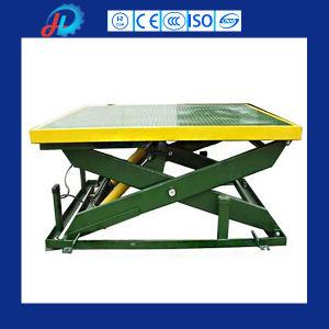 500kg Load Capacity Electric Scissor Lift for Workshop Construction pictures & photos