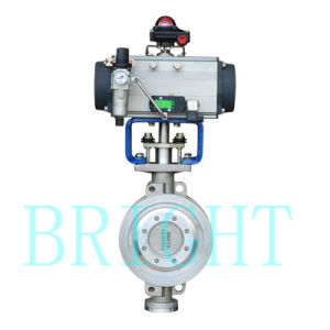 Hb2416 Pneumatic Triple- Eccentric Butterfly Valve