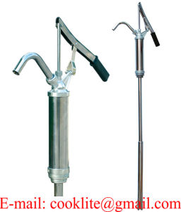 Steel Lever Action Gas Oil Diesel Grease Piston Hand Pump 55 Gallons Self Priming Dispenser pictures & photos
