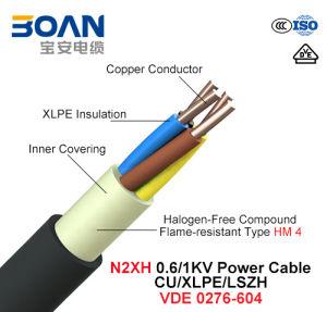 N2xh, Power Cable, 0.6/1 Kv, Cu/XLPE/Lszh (VDE 0276-604) pictures & photos
