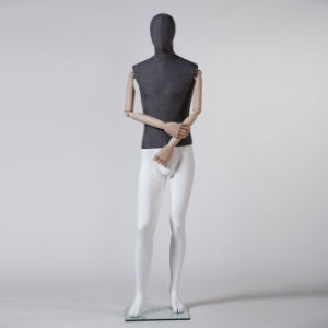 Fiberglass Male Mannequin with Wooden Arm pictures & photos