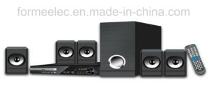 5.1CH DVD Home Theater with Subwoofer RMS 105W pictures & photos