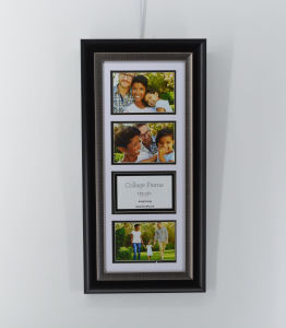 Collage Plastic Picture Frame for School Wall pictures & photos