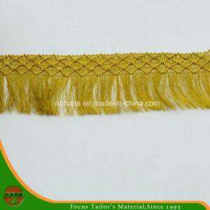 Golden Fringe Lace (FL-1604) pictures & photos