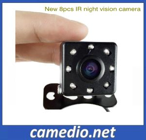 2016 New Hot Selling 8 LED Night Vision Car Rear View Camera CCD Optional pictures & photos