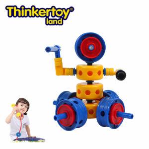 Thinkertoy Land Blocks Educational Toy Robot Series Wall E Intelligence Robot (R6103)
