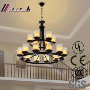 Hotel Decorative European Clear Glass Candelabra Chandeliers Pendant Lamp pictures & photos