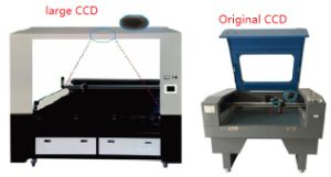 Auto Feeder Laser Cutting Embroidery Machine with Big CCD pictures & photos
