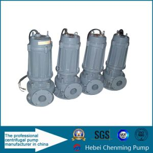Vertical Lift Ss Non-Clogging Submersible Sewage Water Pump