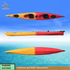Double Sit in Ocean Pedal Kayak with Rudder System