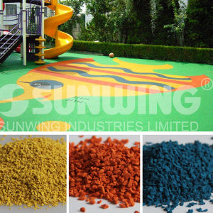 Outdoor EPDM Playground Rubber Flooring pictures & photos
