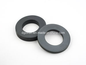 Custom Size Ceramic Ferrite Ring Magnet pictures & photos