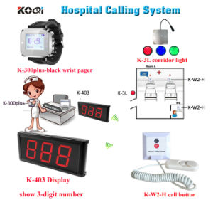 Top Popular Koqi Brand Hospital 999 Zones LED Display Wireless Emergency Call Nurse Call Emergency Response System pictures & photos