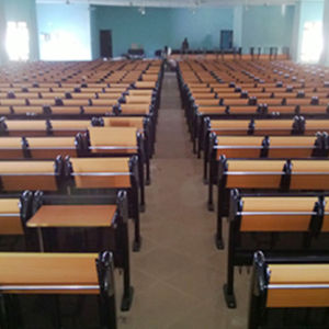 Tables and Chairs for Students, School Chair, Student Chair, School Furniture, Fixed Steel Cantilever Style Desks and Chairs Amphitheater Chair (R-6239) pictures & photos