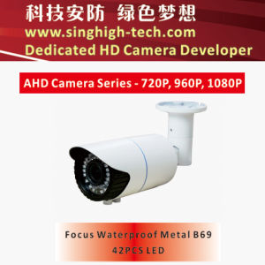 Ahd 2MP Sony Imx322 CMOS Waterproof Metal Housing Varifocal Ahd Camera (NS-3369V)