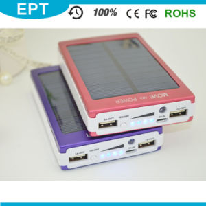 Portable Mobile Solar Power Bank with Your Branding Logo (EP049) pictures & photos