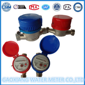 Single-Jet Dry Dial Type Water Meter (LXSG-15E-20E) pictures & photos
