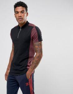 Men Slim Fit Paisley Polo Shirt pictures & photos