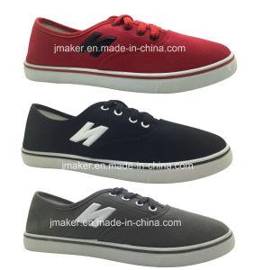N Classic Canvas Shoes Men′s Injection Shoes pictures & photos