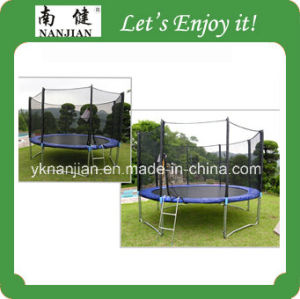 Big Best Outdoor High Quality 14 Ft Trampoline Park pictures & photos